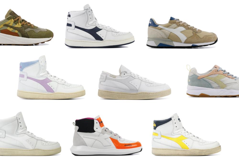 Schoeninspiratie: Diadora sneakers