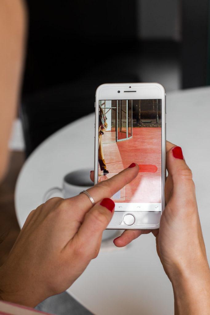 Instagram foto's bewerken via de app Snapseed