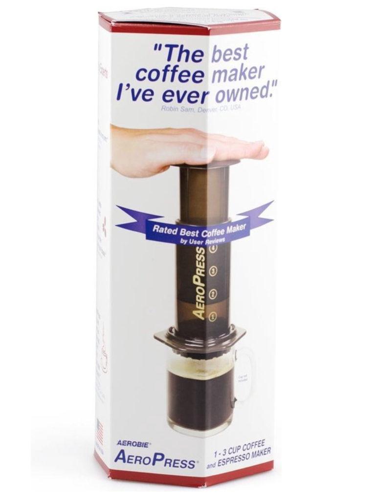 Koffie zetten met Aeropress