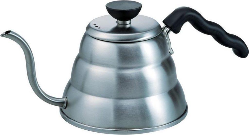 Tools voor filterkoffie: Hario V60 Buono waterketel