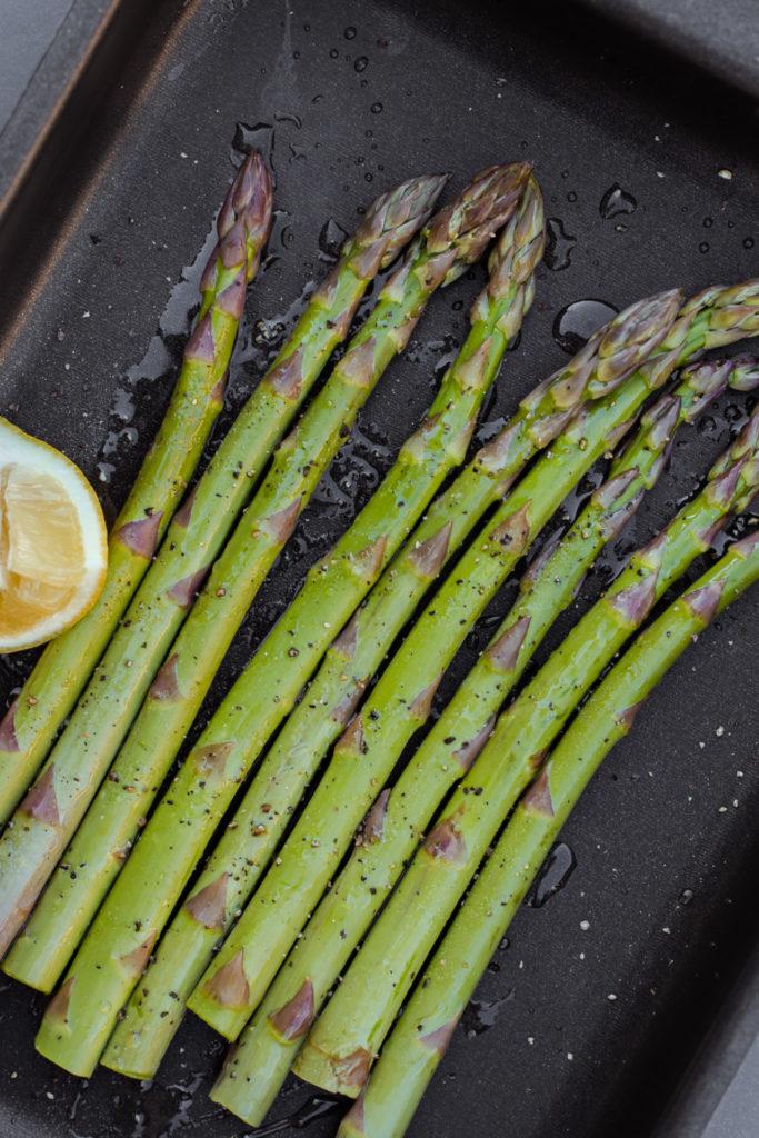 Recept - Risotto met groene asperges en paddenstoelen