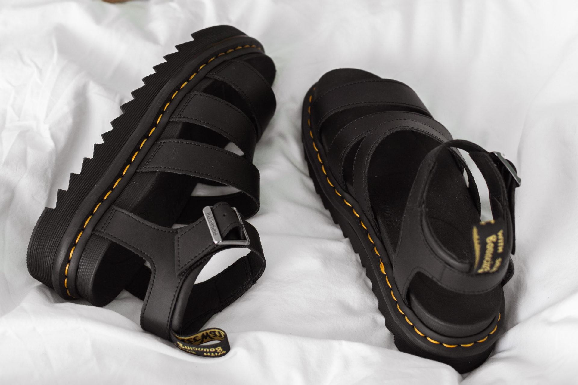 Zomerse sandalen van Dr. Martens