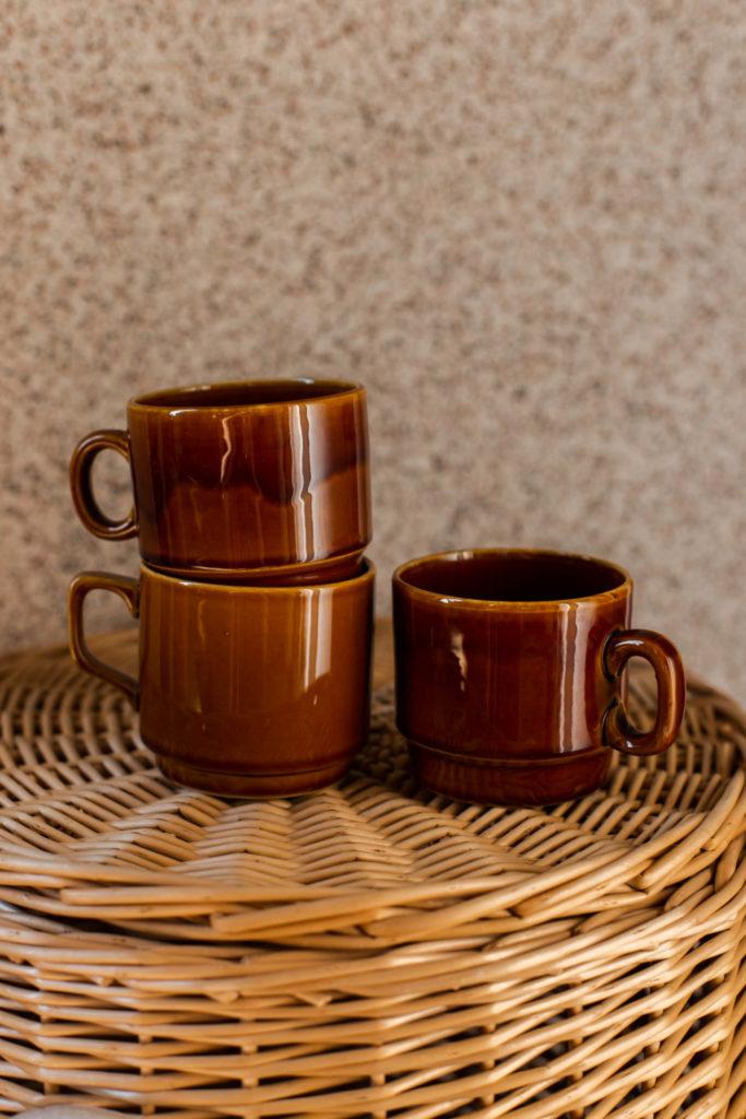 Beste tweedehands vondst: bruine koffiemokken
