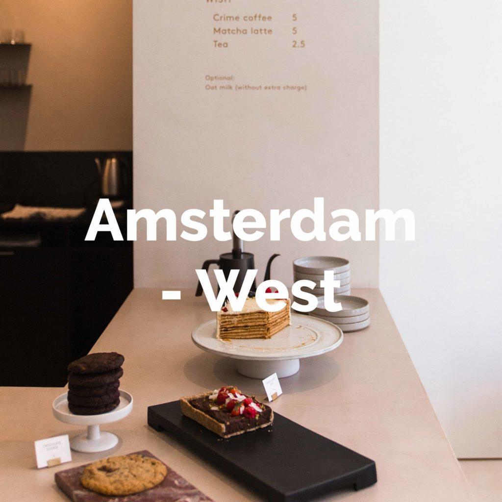 Ontdek alle hotspots in Amsterdam-West