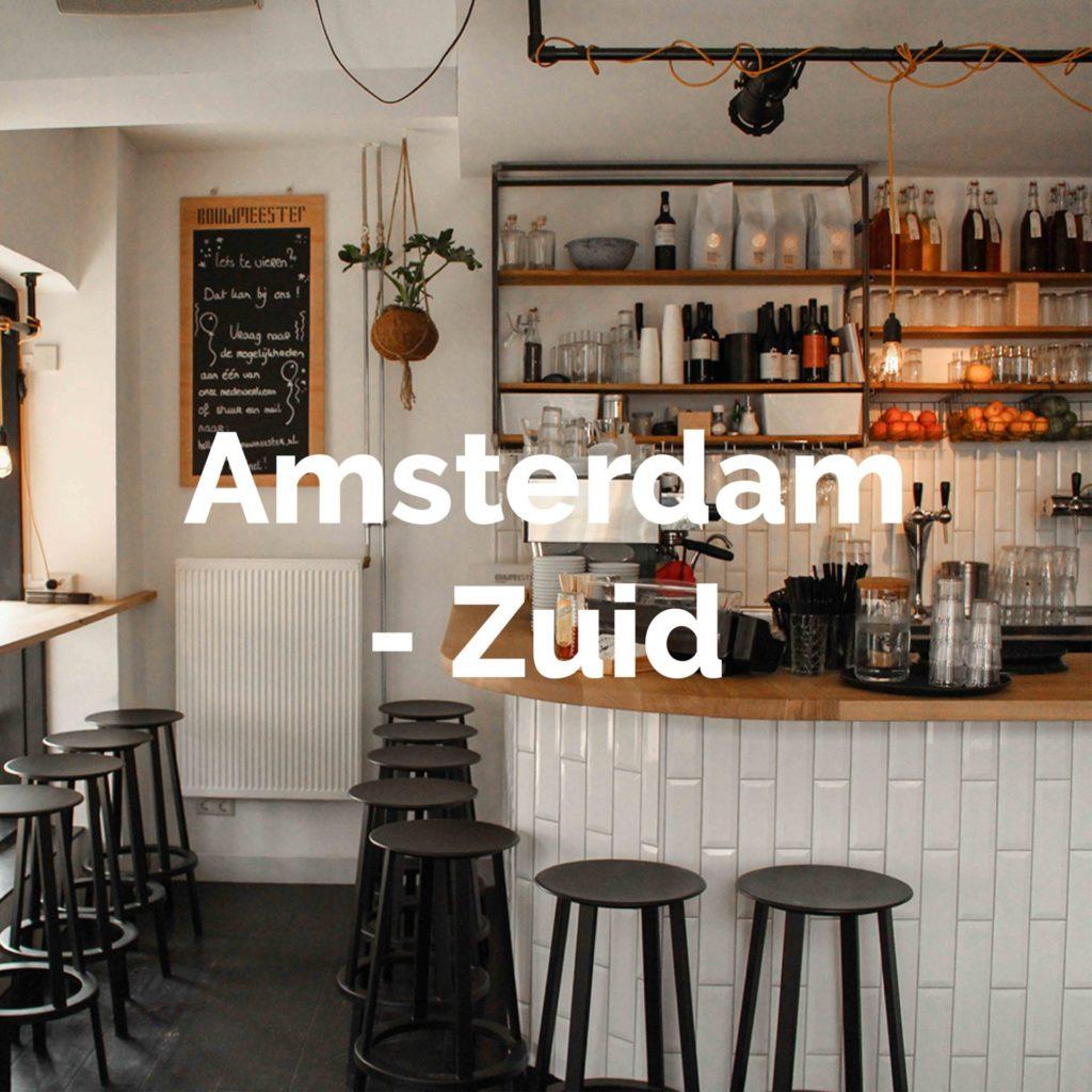Ontdek alle hotspots in Amsterdam-Zuid