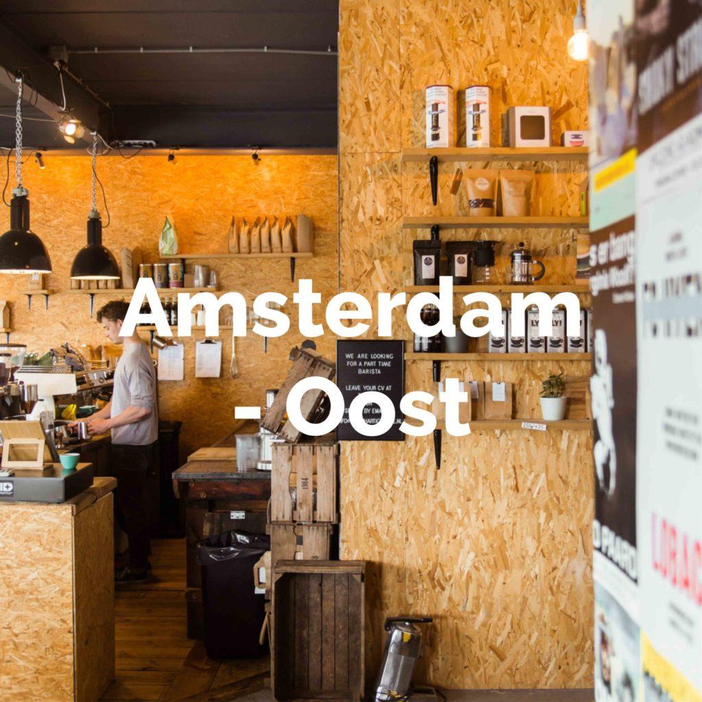 De leukste plekken om te eten & drinken in Amsterdam-Oost
