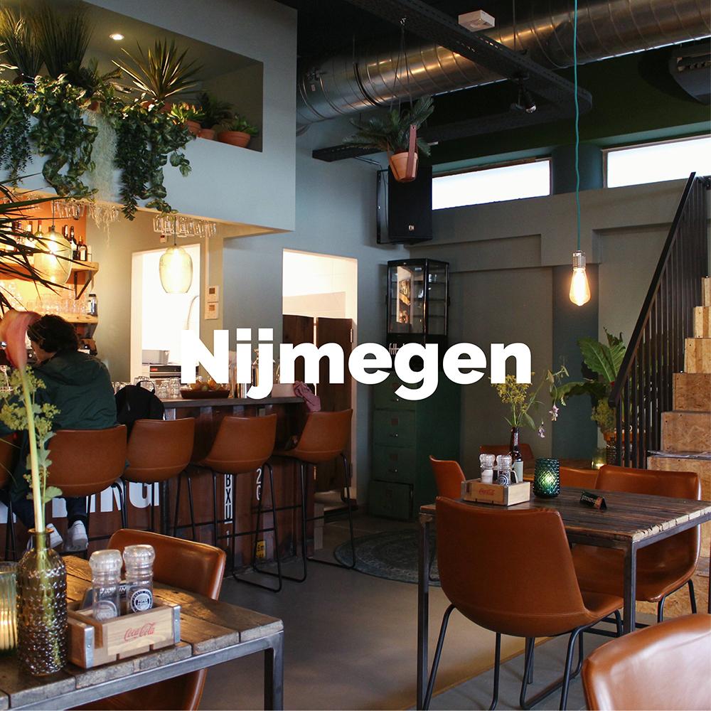 Ontdek alle hotspots in Nijmegen