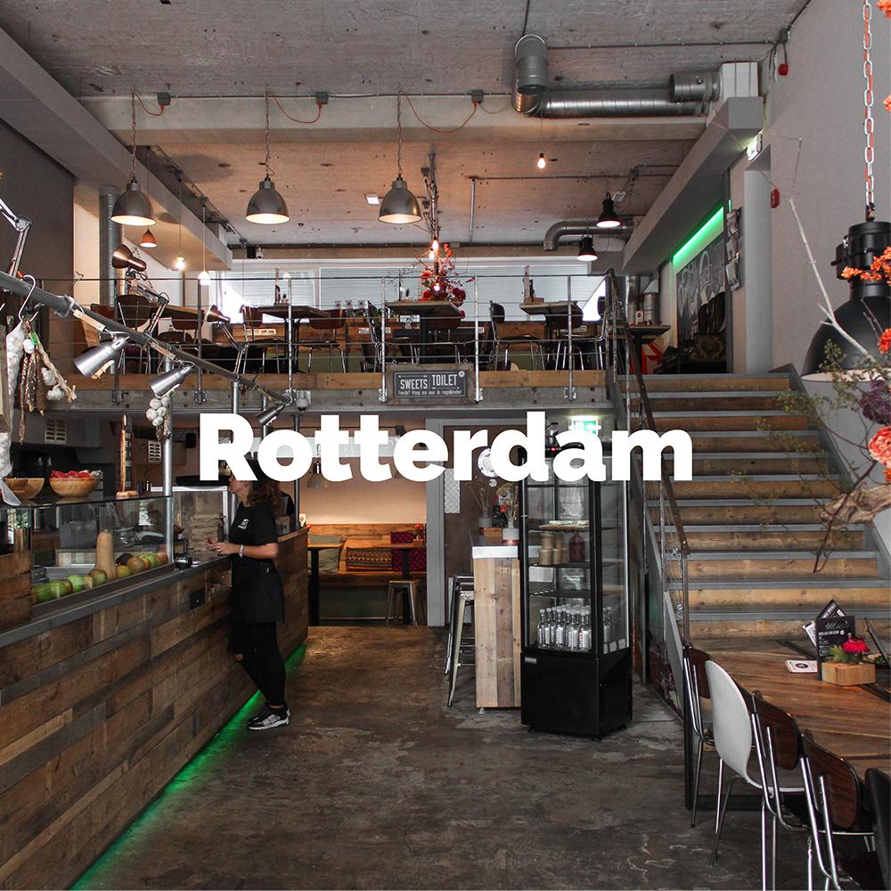 Ontdek de lekkerste eetplekken van Rotterdam