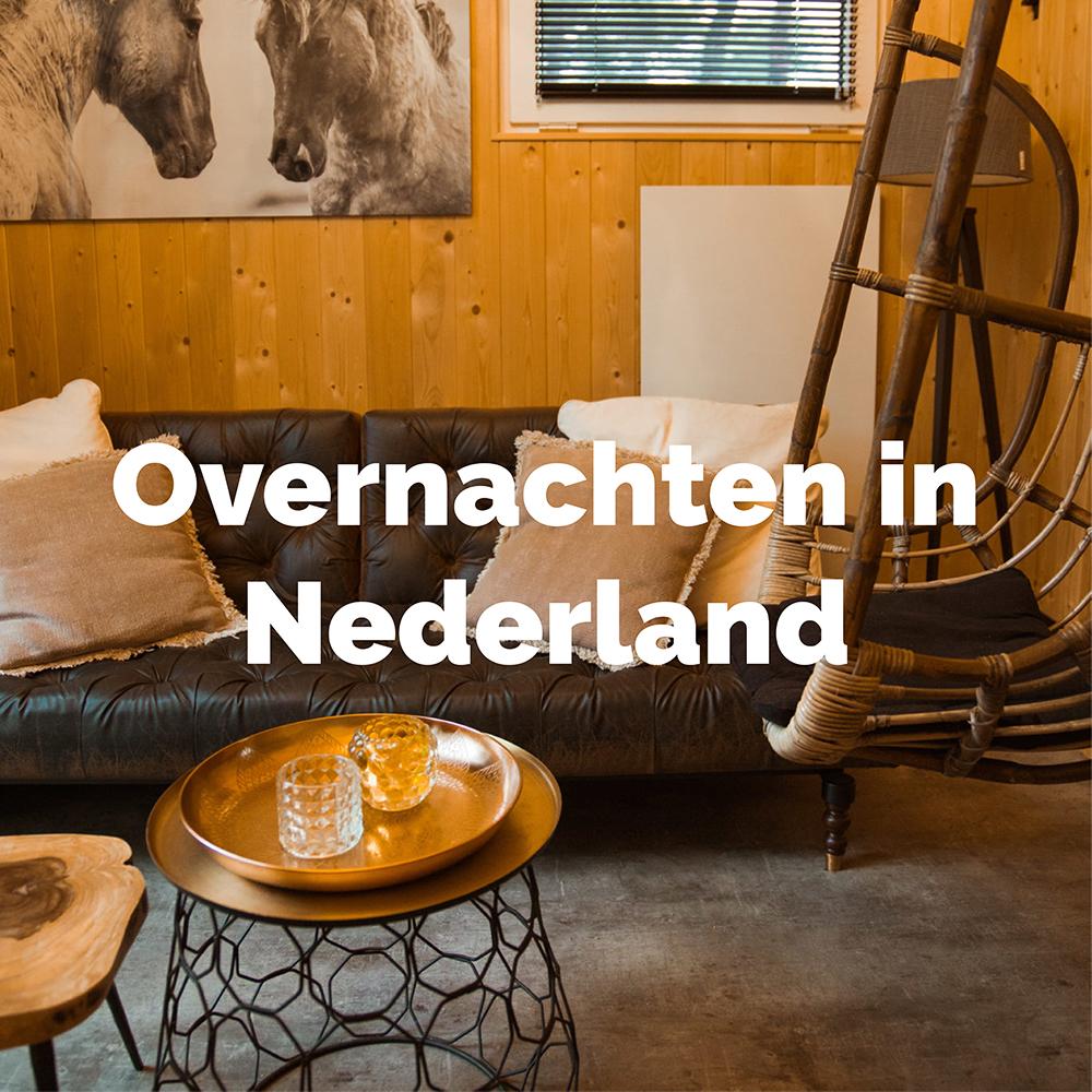 Unieke tips voor overnachten in Nederland