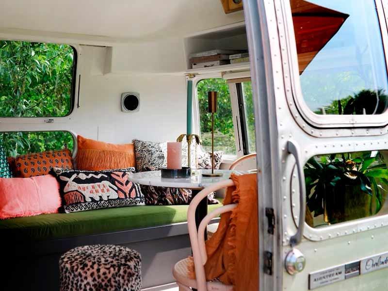 Duurzame accomodatie: Airstream caravan van Het Bos Roept