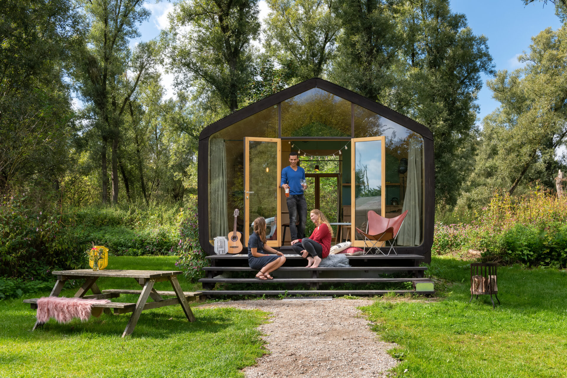 Duurzame vakantiehuisjes: Wikkelhouse