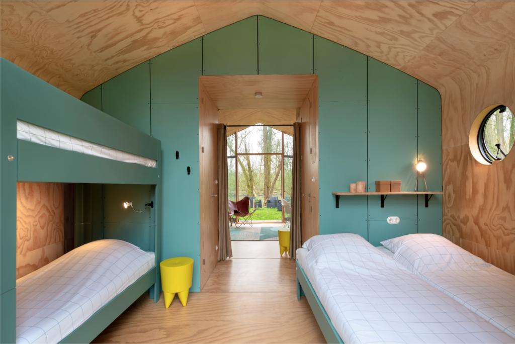 Eco-vriendelijke vakantiehuisjes - Wikkelhouse