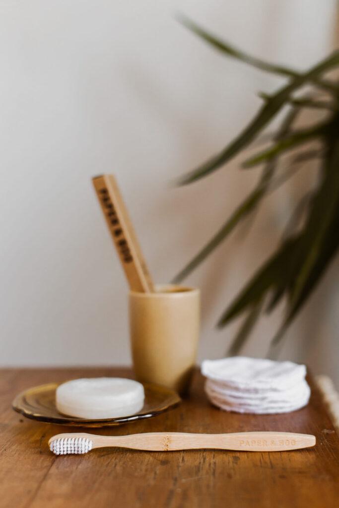 Duurzame tandenborstel gemaakt van bamboe