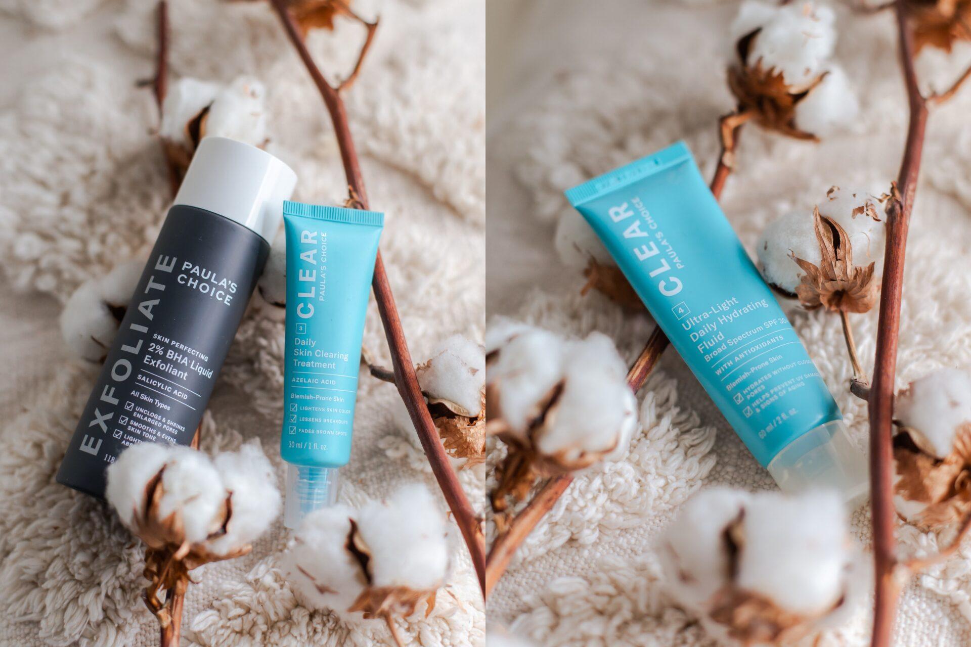 Paula's Choice huidverzorging voor een acne-vrij gezicht