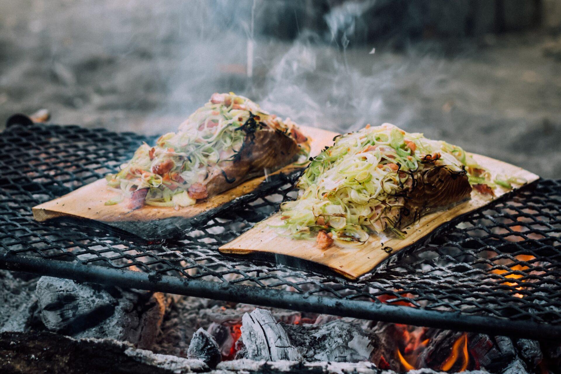 Tips voor koken op een kampvuur