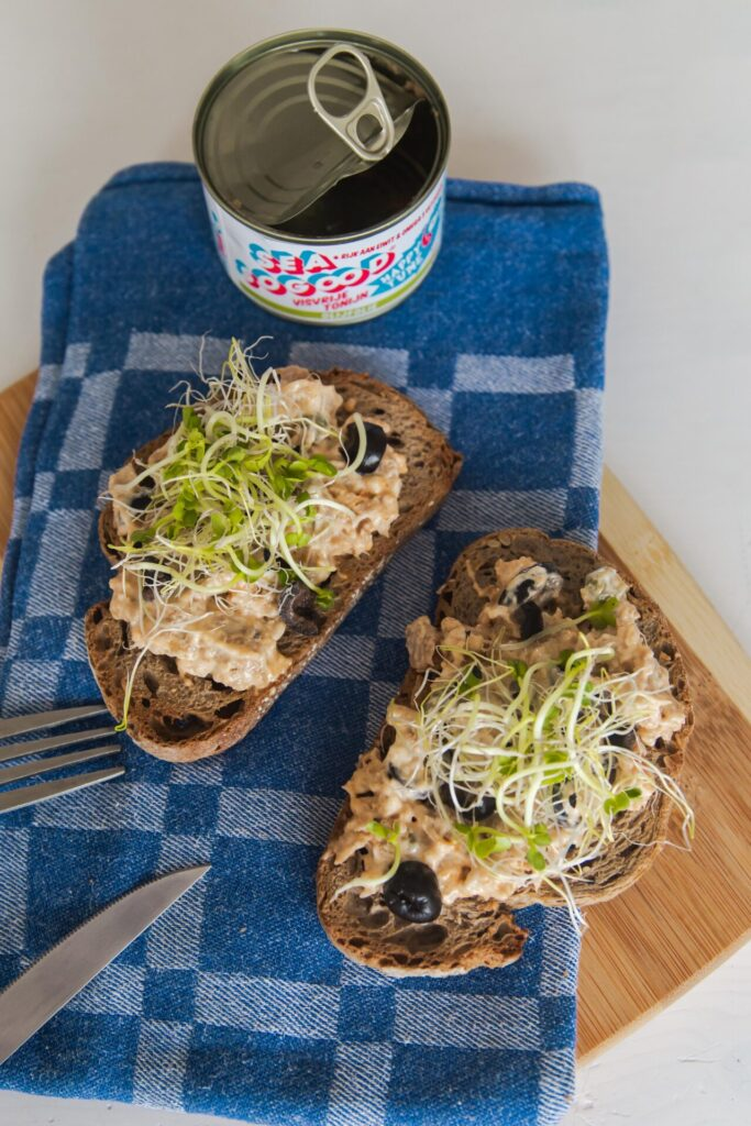Recept pittige vegan tonijnsalade