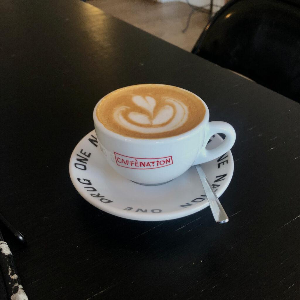 Koffietenten in Amsterdam west: Caffénation