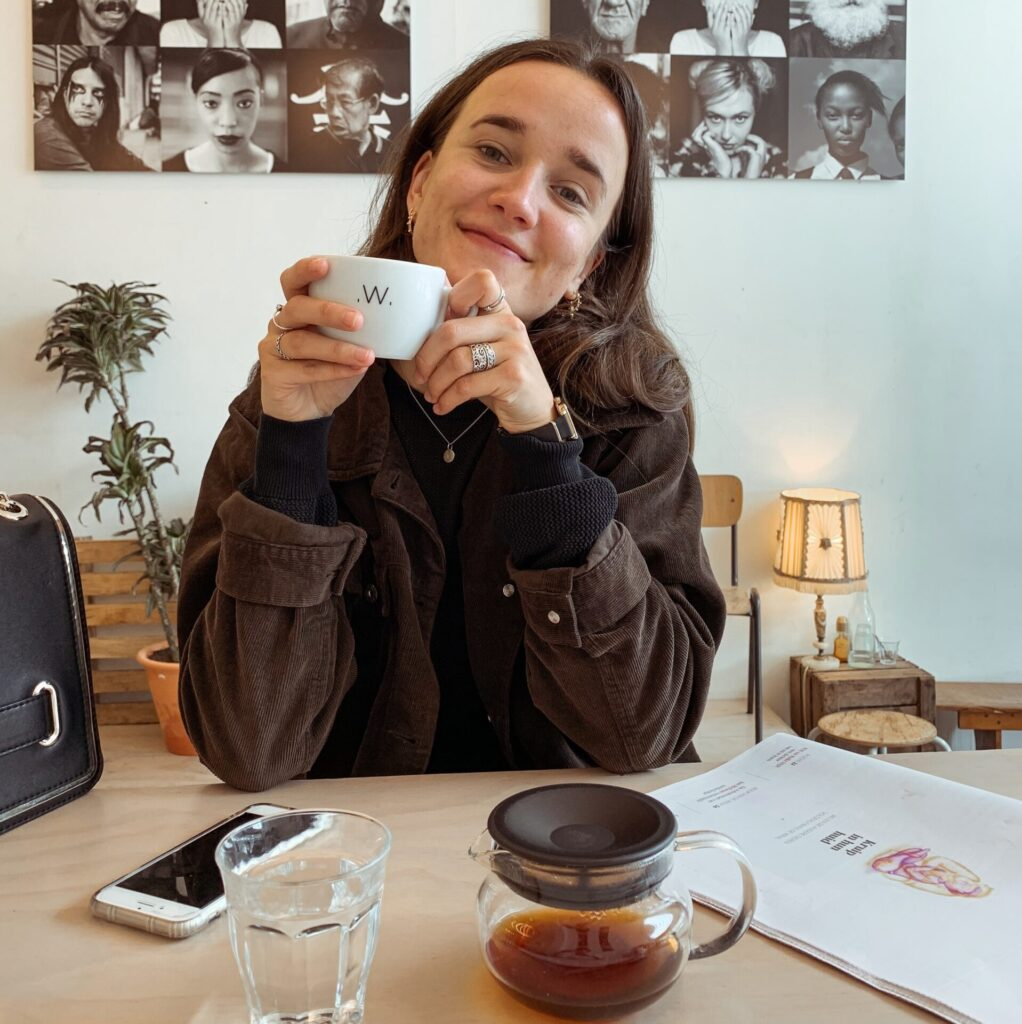 Koffietent White Coffee Label