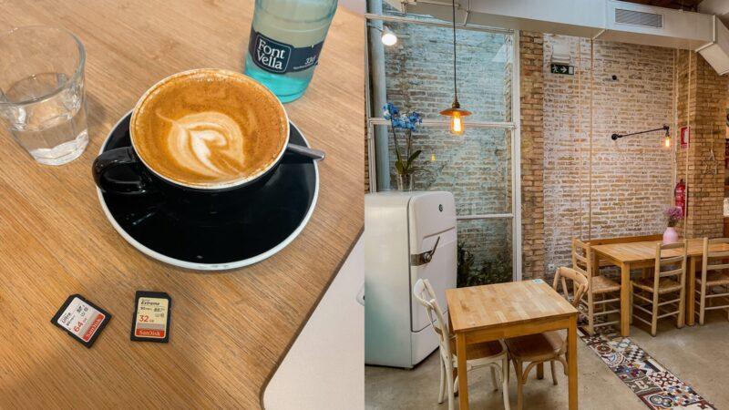 Koffietenten en werkplekken in Valencia