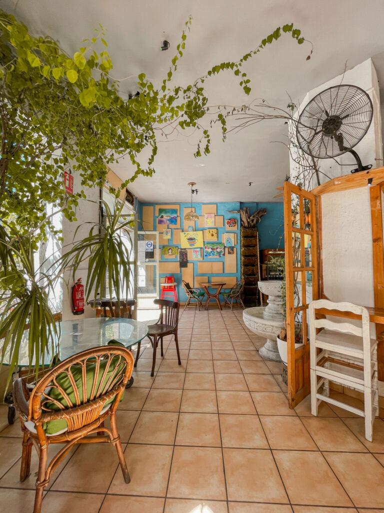 Koffietenten in Valencia - Ruzafa- - Jardin Urbano